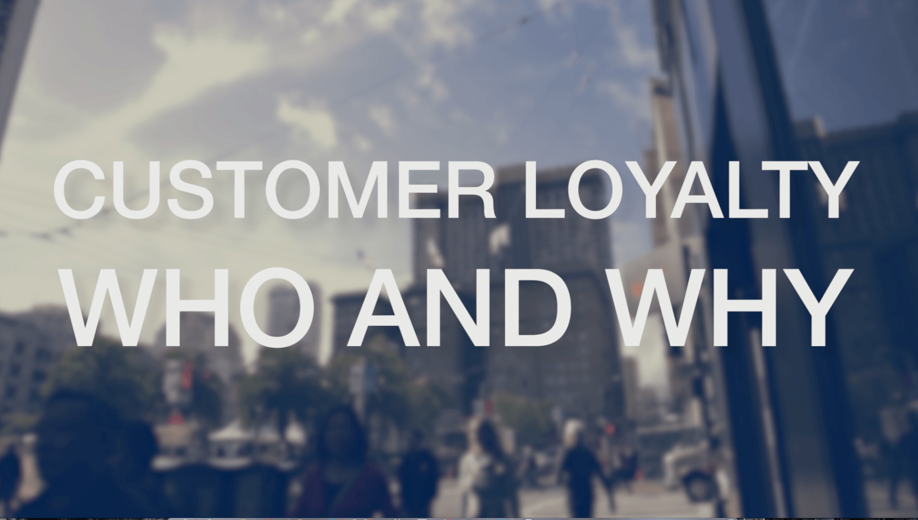 Voice of the customer: Which brands are customers loyal to and why?
