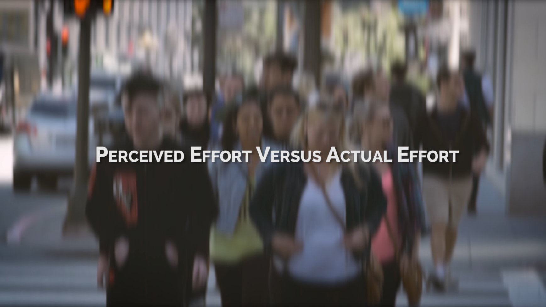 Perceived Customer Effort Versus Actual Effort
