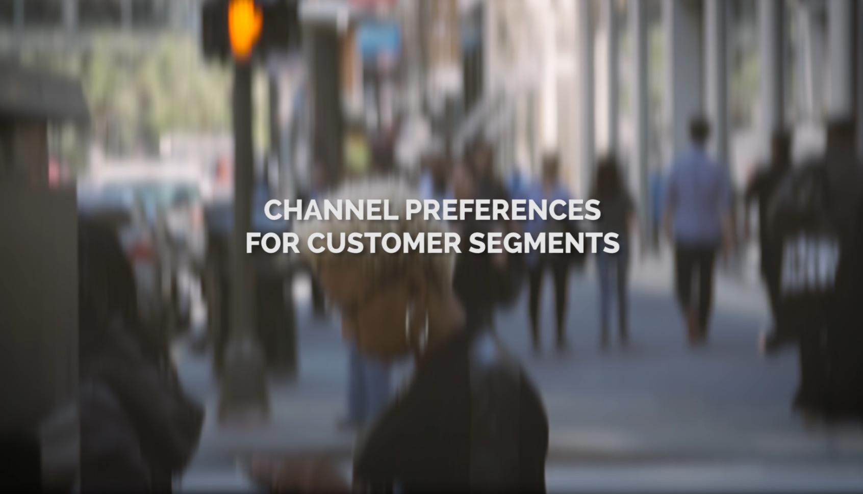 Channel Preferences for Different Customer Generations
