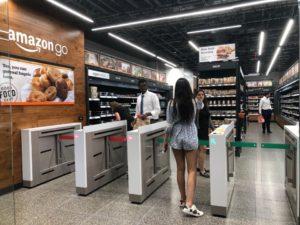 Amazon Go Shopping